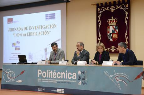 La Politécnica acoge un foro de intercambio y discusión sobre las investigación de I+D+i en Edificación