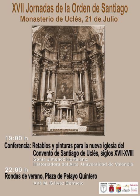 Todo listo para XVII Jornadas de la Orden de Santiago en Uclés