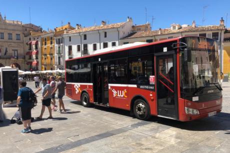El último horario de los autobuses lanzadera se ajusta según la nueva normativa sanitaria