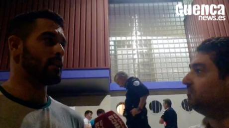 Video | Leonardo Dutra valora el encuentro entre el Quabit Guadalajara - Liberbank Cuenca