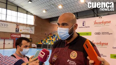 Sala de Prensa | Lidio Jiménez - [Incarlopsa Cuenca 27 - 41 Barça]