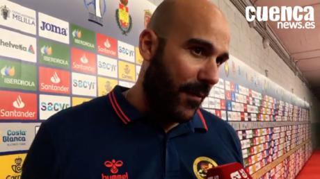 Lidio Jiménez valora el encuentro entre el Bidasoa Irún - Liberbank Cuenca (33- 36) en los cuartos de la de final de la Copa del Rey