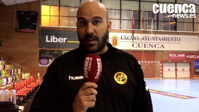 Lidio Jiménez analiza la meritoria victoria en Santander y habla del próximo compromiso europeo del Liberbank Cuenca