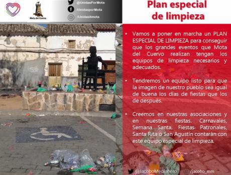 """Medianero propone un """"Plan Especial de Limpieza"""" para eventos"""
