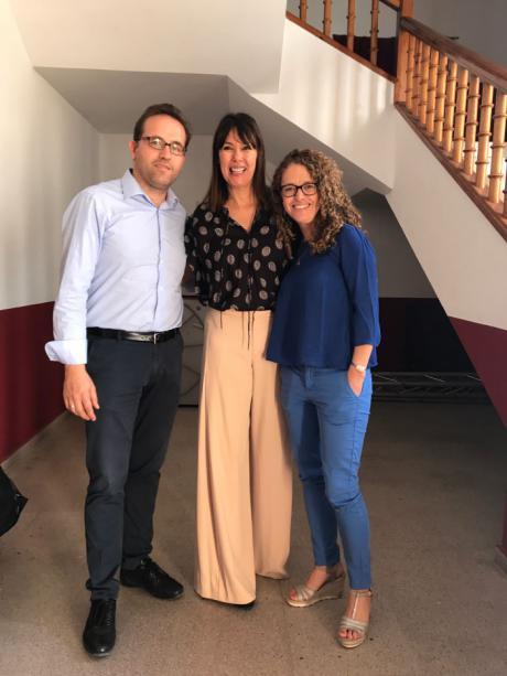 Mabel Lozano presenta su documental 'Chicas Nuevas 24 Horas' en Quintanar del Rey