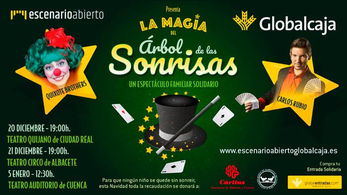 'La magia del árbol de las Sonrisas' llega mañana a Cuenca