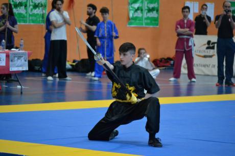 Ell Club Lao Jia Wu Shu de Cuenca en el Campeonato de España de Wu Shu