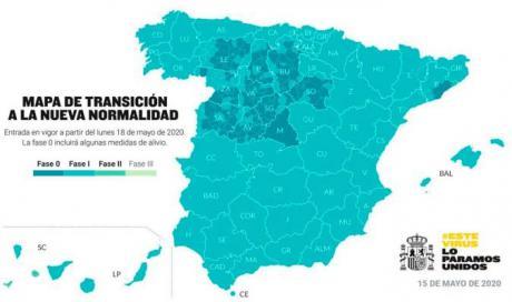 Las provincias de Albacete, Toledo y Ciudad Real pasarán también a la fase 1