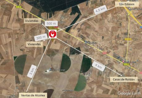 Vecinos de Cuenca y Albacete se oponen a la construcción de una macroganja de casi un millón y medio de gallinas