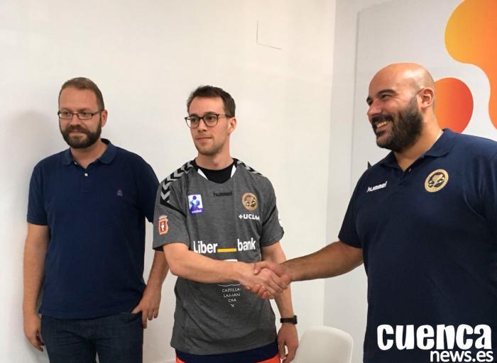Presentación del albiceleste Santiago Baronetto como jugador del Liberbank Cuenca