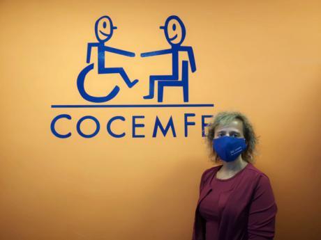 Marta Montero, nueva presidenta de COCEMFE Cuenca