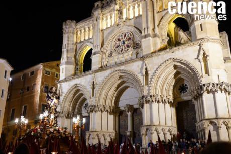 Todo listo para que la procesión del Perdón salga este año a las 19h.