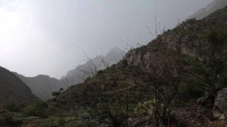 La semana acaba con descenso de temperatura y chubascos en Serranía