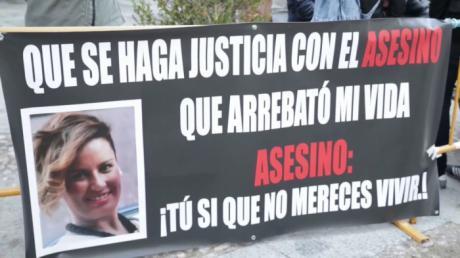 La madre de Laura del Hoyo espera que Morate cumpla su condena íntegramente
