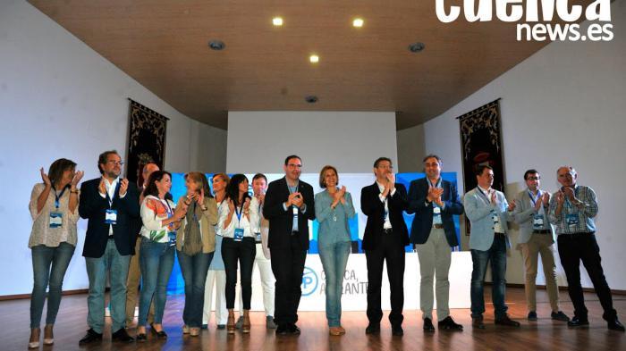 Clausura del XV Congreso Provincial del Partido Popular de Cuenca