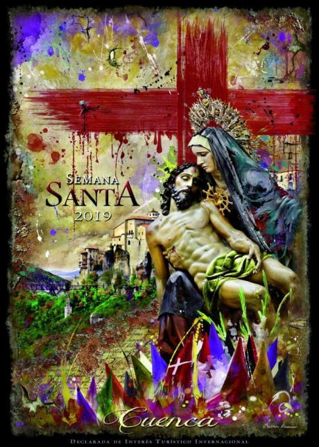 Pintura y fotografía se mezclan en el cartel de Semana Santa