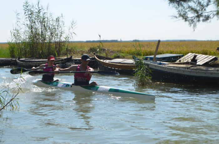 El C.D. Cuenca Kayak en la 52 Travesía La Albufera