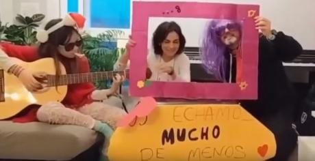 """""""No dejes de soñar"""", vídeo de ánimo para los niños del colegio de """"San Fernando"""""""
