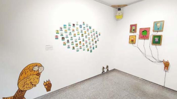 """Hasta el 2 de octubre se podrá ver la exposición """"MONSTERGEO"""" en el espacio cultural Kanoko"""