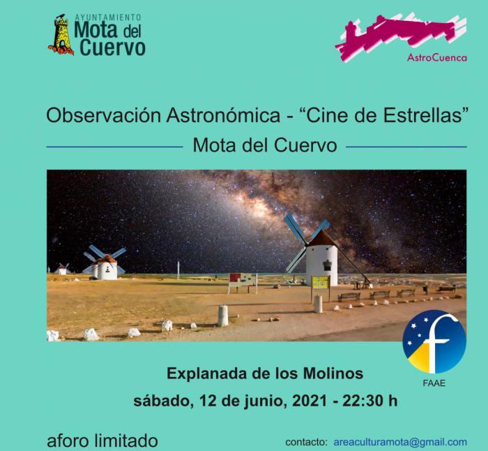 Observación astronómica y MotaArcade en la agenda para el fin de semana en Mota del Cuervo