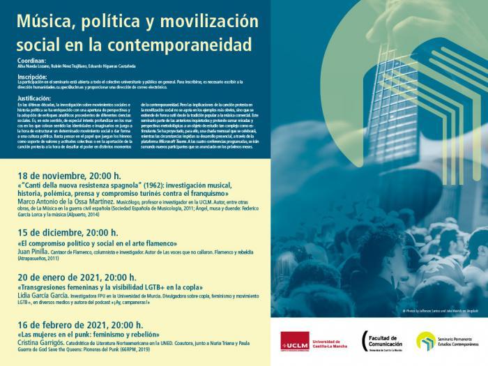 La investigadora y divulgadora Lidia García impartirá una conferencia sobre las transgresiones femeninas y el colectivo LGTB+ en la copla.