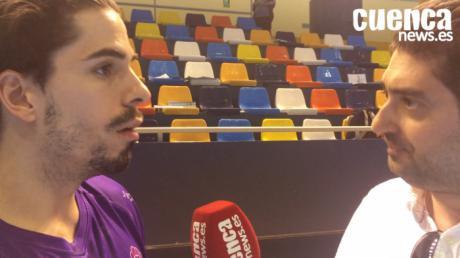 Video | Nacho Moya valora el encuentro entre el Quabit Guadalajara - Liberbank Cuenca