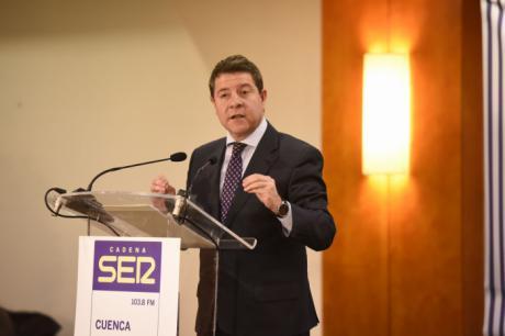 García-Page dice que el ATC no tiene sentido porque la UE construirá uno bajo el mar