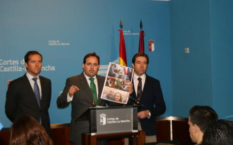 Para el PP, las empresas no vienen a Castilla-La Mancha porque Page tiene en su Gobierno a un vicepresidente que apoya el independentismo