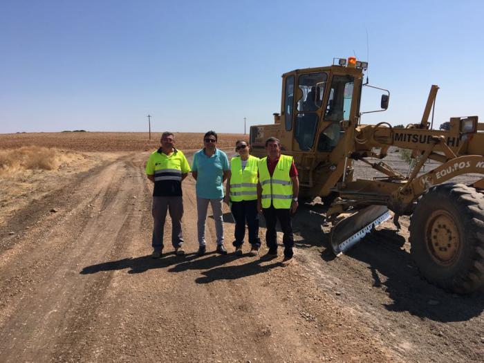Mota del Cuervo avanza con el II Plan de obras de arreglos de caminos en la localidad