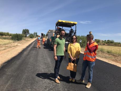 Se inician las obras de acondicionamiento de dos ramales de la CM-3201 en El Herrumblar