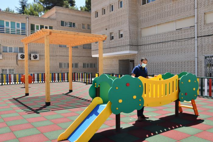 La Diputación mejora las instalaciones de la Escuela Infantil Provincial con una inversión de 45.000 euros