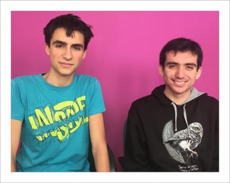 Álvaro Martínez (izquierda) y Marco Arones (derecha)
