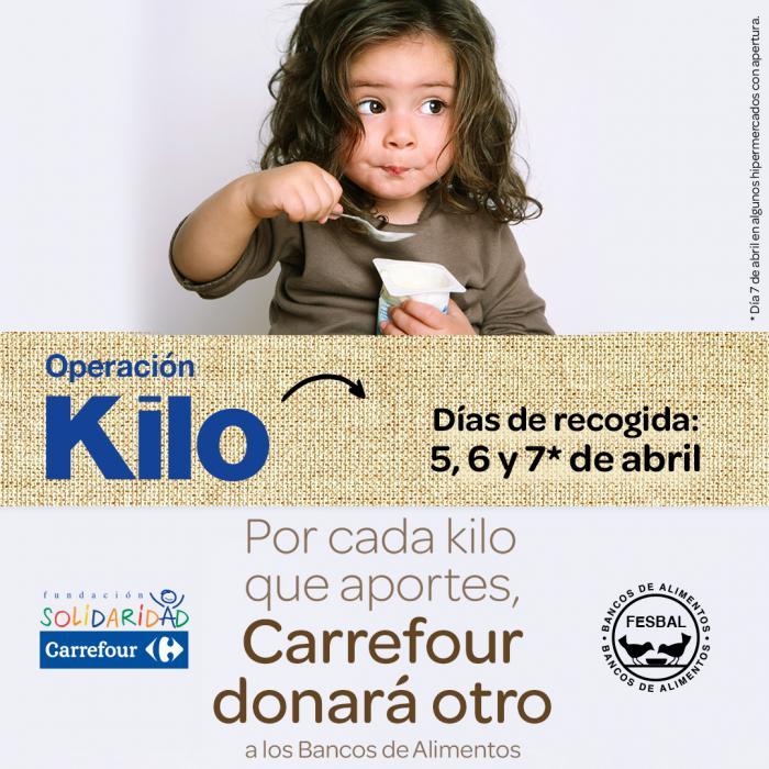 Carrefour arranca su tradicional 'Operación Kilo' en Cuenca igualando la aportación de sus clientes