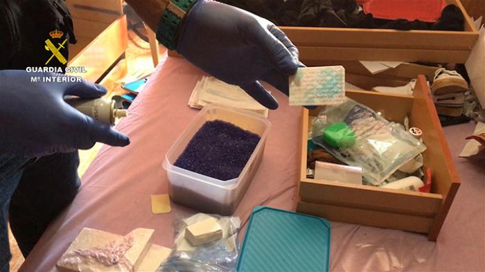 Desmantelado un punto de venta de cocaína en Torrijos