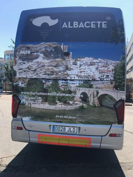 Castilla-La Mancha promociona sus atractivos turísticos en la línea de autobuses ALSA
