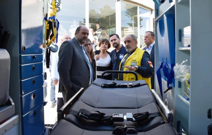 Se moderniza y amplía los vehículos para el transporte sanitario terrestre en la provincia