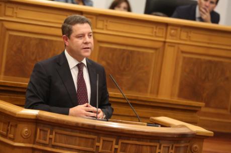 """García-Page destaca la """"notable"""" mejoría de todos los indicadores y parámetros de progreso y bienestar en la región"""