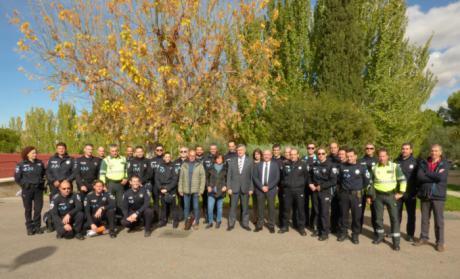 La Escuela de Protección Ciudadana forma a 25 policías locales en la detección de consumo de drogas entre conductores