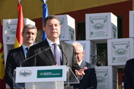 """García-Page reclama a Rajoy que """"el agua del Tajo se quede en el Tajo"""" por encima de compensaciones económicas"""