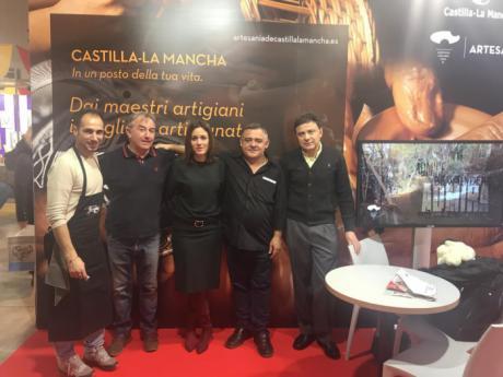La artesanía de Castilla-La Mancha presente en L'Artigiano, la Feria de Artesanía más grande del mundo que se celebra en Milán