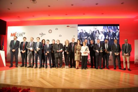 Castilla-La Mancha reconoce a las diez mejores empresas de la región en 2017