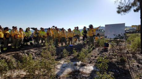 La Junta fomenta la formación de los profesionales de incendios forestales con más de 100 acciones durante el año 2017