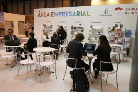 FITUR 2018 | El stand de Castilla-La Mancha en FITUR acoge un destacado número de contactos de agencias de viajes y turoperadores extranjeros