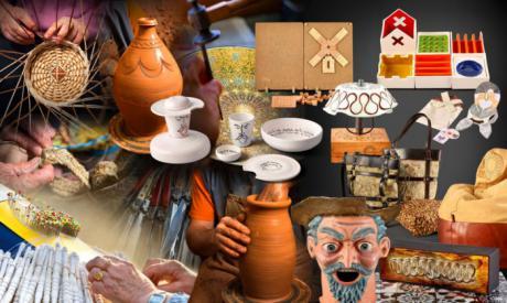 Castilla-La Mancha se presenta en el Salón Internacional del Regalo y Decoración 'Intergift' con una muestra de artesanos de Albacete, Cuenca y Toledo