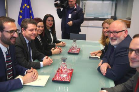 García-Page confía en que las políticas cohesionadoras como la PAC o los fondos comunitarios no se vean resentidas con el Brexit