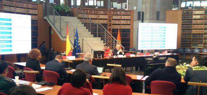 Los profesionales de extinción de incendios forestales de Castilla-La Mancha muestran su experiencia como referentes internacionales