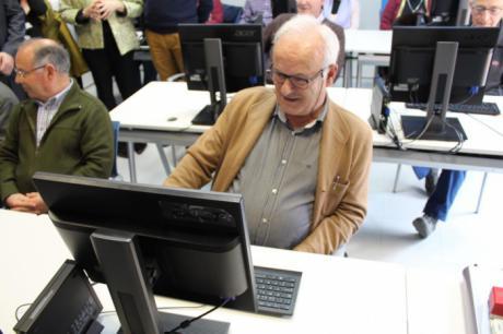 El programa 'Los mayores forman la red' del Gobierno de Castilla-La Mancha congrega más de 1.200 participantes en 2017