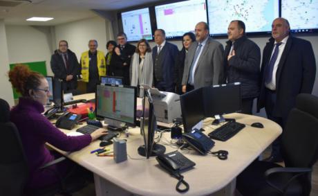 La Junta destaca el avance que se ha producido en el transporte sanitario terrestre de la provincia de Cuenca