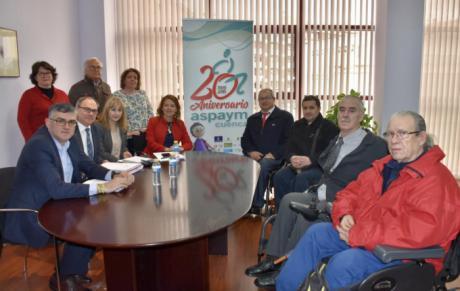 La Junta destaca la labor de ASPAYM Cuenca en su 20 aniversario