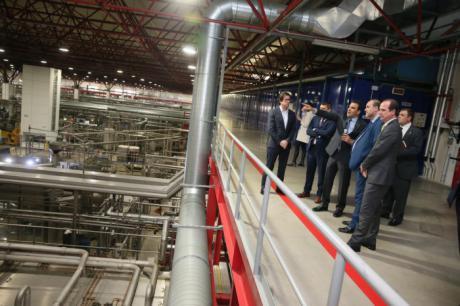 La Junta valora positivamente las nuevas inversiones del grupo Mahou San Miguel en Castilla-La Mancha